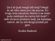 Duško Radović: Da li bi ljudi...