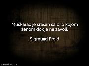 Sigmund Frojd: Muškarac je srećan sa...