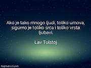 Lav Tolstoj: Ako je tako mnogo...
