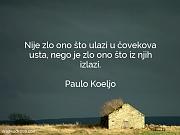 Paulo Koeljo: Nije zlo ono što...