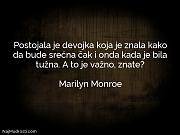 Marilyn Monroe: Postojala je devojka koja...