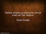 Paulo Koeljo: Razlika između pustolovine i...