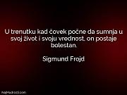 Sigmund Frojd: U trenutku kad čovek...