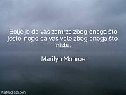 Marilyn Monroe: Bolje je da vas...