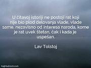 Lav Tolstoj: U čitavoj istoriji ne...
