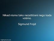 Sigmund Frojd: Nikad nismo tako nezaštićeni...