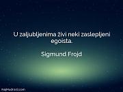Sigmund Frojd: U zaljubljenima živi neki...