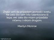 Marilyn Monroe: Znala sam da pripadam...