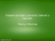 Marilyn Monroe: Karijera se rađa u...