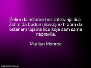 Marilyn Monroe: Želim da ostarim bez...