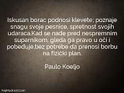 Paulo Koeljo: Iskusan borac podnosi klevete;...