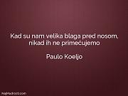 Paulo Koeljo: Kad su nam velika...
