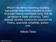 Nikola Tesla: Mislim da nema nijednog...