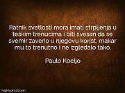 Paulo Koeljo: Ratnik svetlosti mora imati...