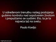 Paulo Koeljo: U određenom trenutku našeg...