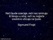 Sigmund Frojd: Reči bude osećaje, reči...