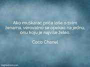 Coco Chanel: Ako muškarac priča loše...