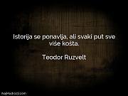 Teodor Ruzvelt: Istorija se ponavlja, ali...