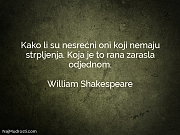 William Shakespeare: Kako li su nesrećni...