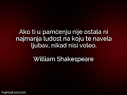William Shakespeare: Ako ti u pamćenju...