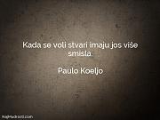 Paulo Koeljo: Kada se voli stvari...