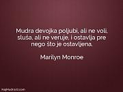 Marilyn Monroe: Mudra devojka poljubi, ali...