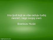 Branislav Nušić: Ima ljudi koji se...