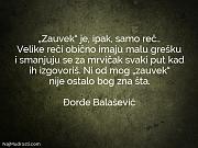 "Đorđe Balašević: ""Zauvek"" je, ipak, samo..."