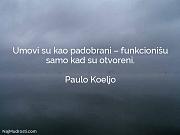 Paulo Koeljo: Umovi su kao padobrani...